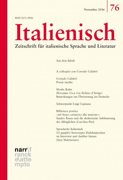 Mit deutscher übersetzung italienische poesie Italienische Gedichte